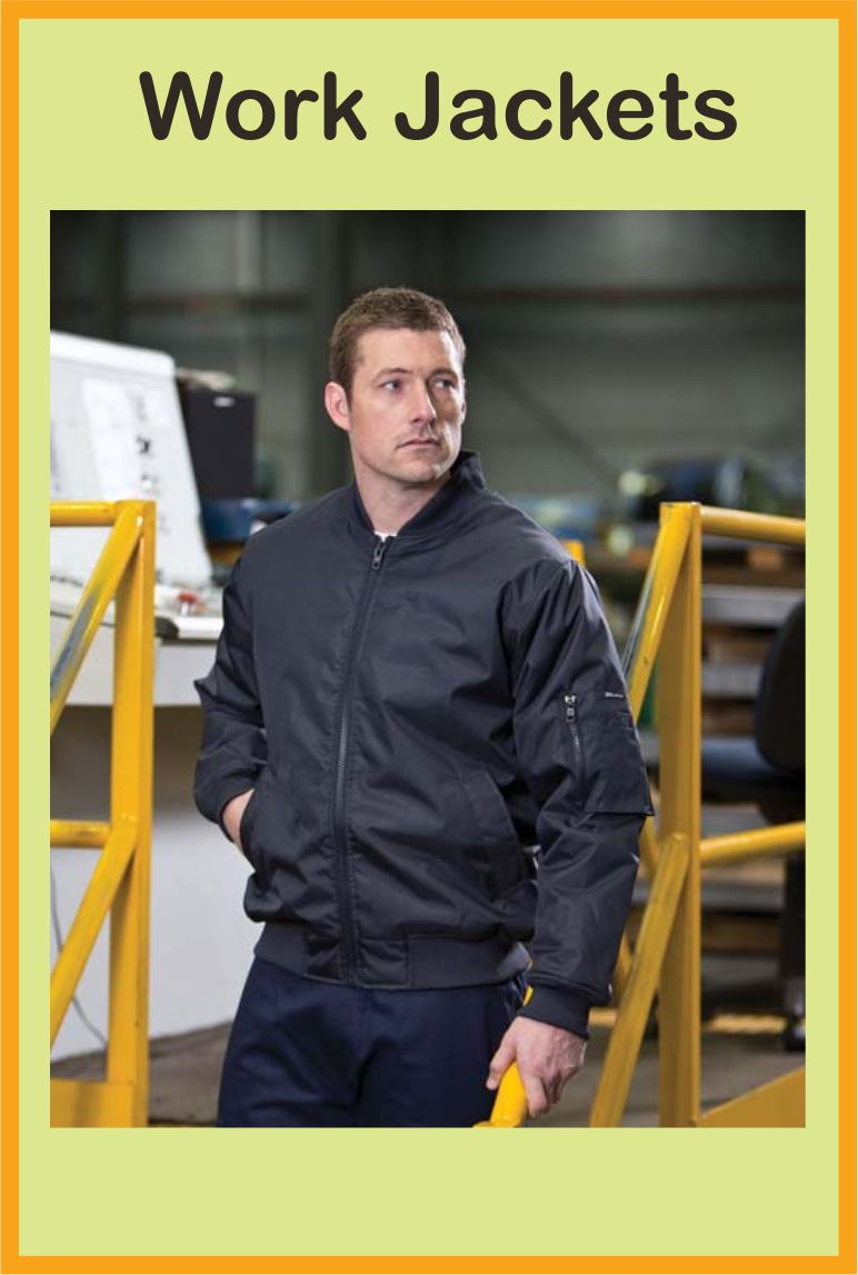 Jackets Our range of safety jackets will help keep you safe, but must also handle extreme weather conditions, for example rain, hail and wind. The majority of our jackets are very breathable and weather resistant, and can include additional protection such as heavy duty zippers and storm flaps.
